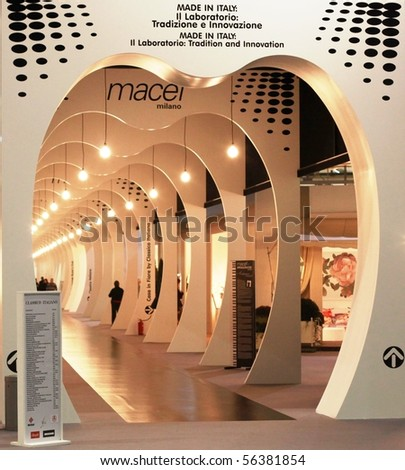Milan Italy January 15 Entrance Macef Stock Photo 56381854