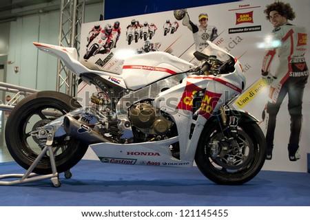 MILAN ITALY NOV 15 Honda RC 213 V Stock Photo (Royalty Free ...