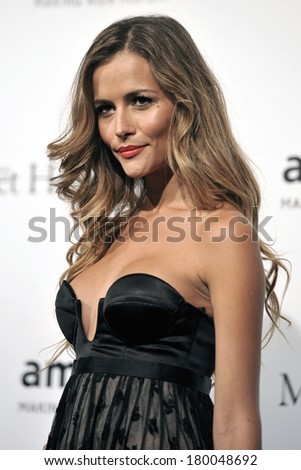 MILAN, ITALY-SEPTEMBER 22, 2012: American actress Dree Hemingway attends the red carpet on a charity event for AmFar, the Foundation for AIDS Research, during the Fashion Week in Milan.