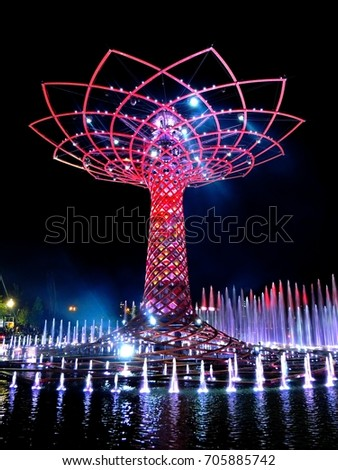 stock-photo-milano-italy-august-albero-d
