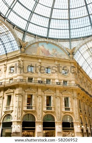Milano shopping centre - stock photo