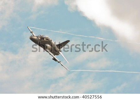 Military Airplane Flying - stock photo