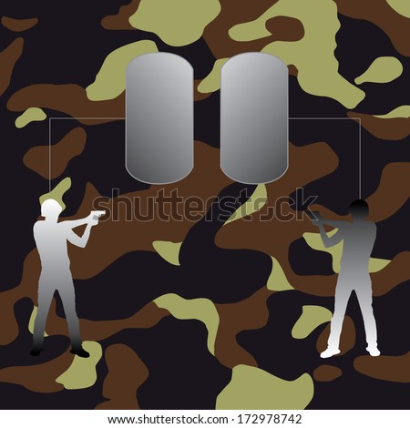 Military background. - stock photo