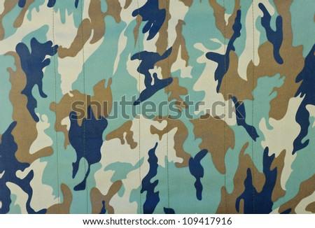 Military camouflage background - stock photo