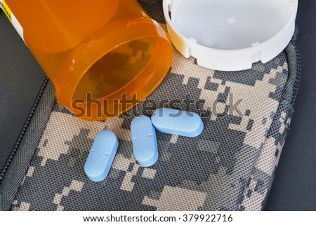 Military healthcare and medicine. - stock photo