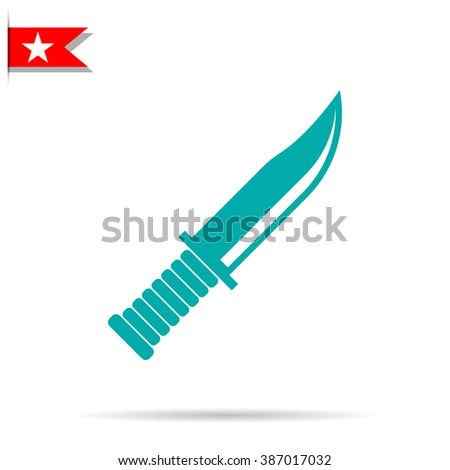 military knife icon