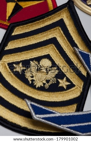 Military Medals - stock photo