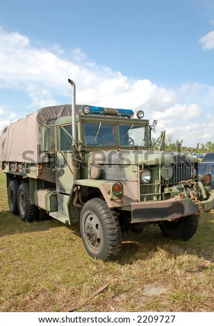 Military police all terrain truck