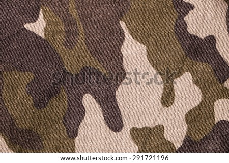 Military texture camouflage background - stock photo