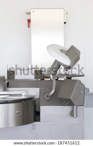 Milk factory technology - stock photo