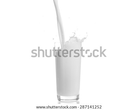 Milk in motion