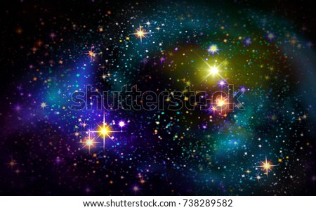 Milky way abstract background with stars.Abstract sky background.