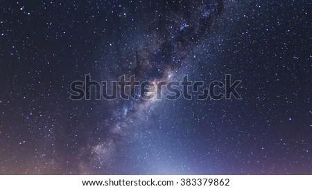 Milky Way Core - stock photo