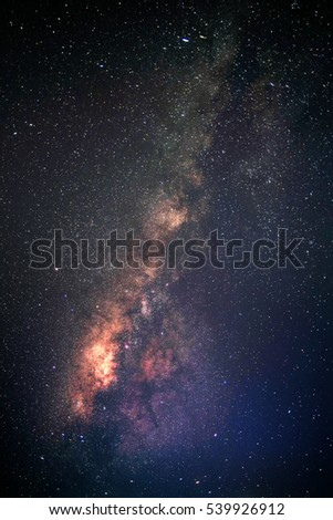 Milky way galaxy.
