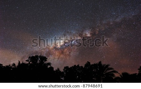 Milky Way over Cairns