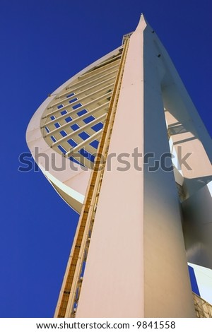 Millennium Spinnaker Tower in Portsmouth, South England