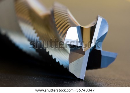 Milling cutter - stock photo