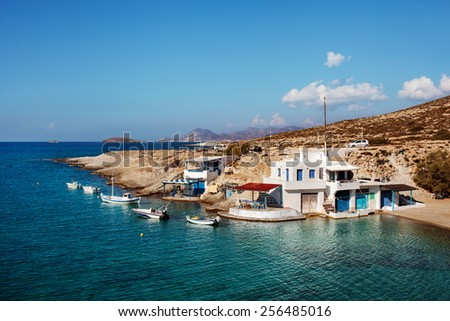 Milos Island, Greece.  - stock photo