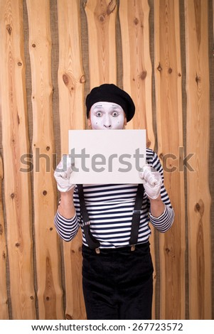 mime - stock photo