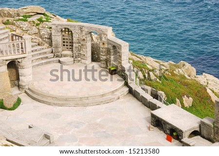 Minack theatre in Cornwall, UK