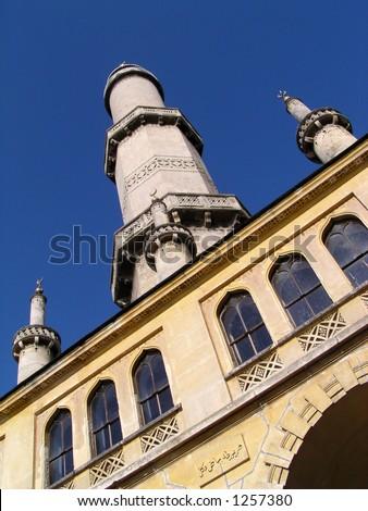 Minaret - stock photo