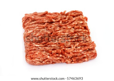 Minced Meat - stock photo