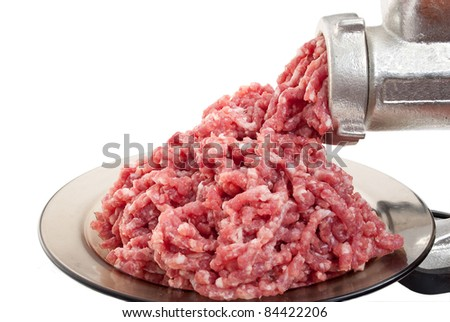 Mincer - stock photo