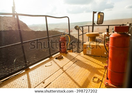 Mine car outside view - stock photo
