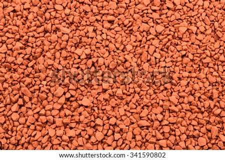Mineral fertilizers granules. Background - stock photo