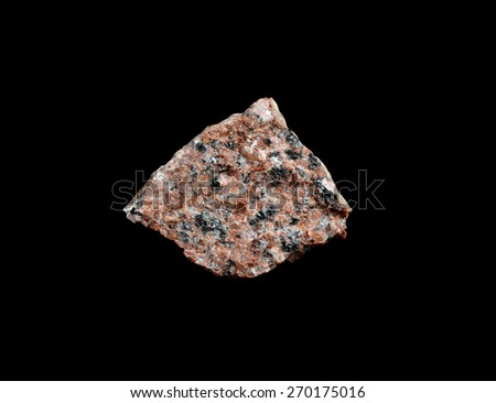 mineral Granite - stock photo
