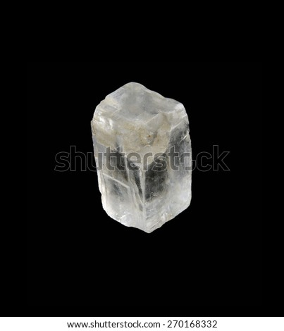 mineral iceland spar - stock photo