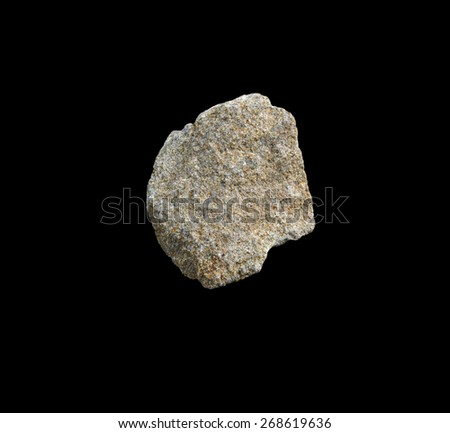 mineral sandstone - stock photo