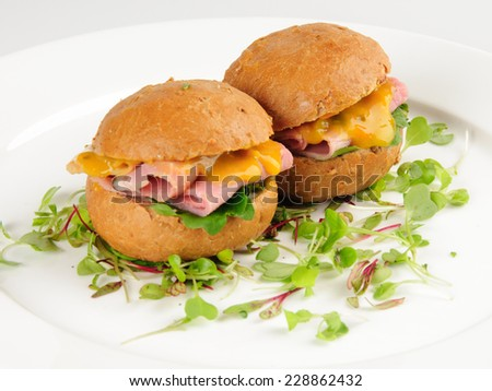 Chile-Marinated Pork Sandwiches On Cemita Rolls Recipe — Dishmaps