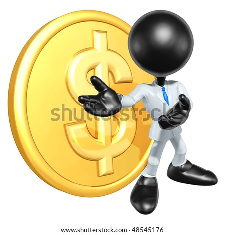 Mini O.G. Businessman With Gold Coin