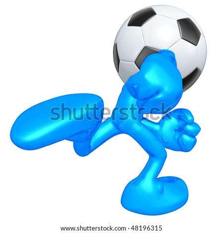 Mini O.G. Soccer Football - stock photo