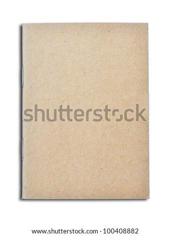 Mini pocket note book on white background - stock photo