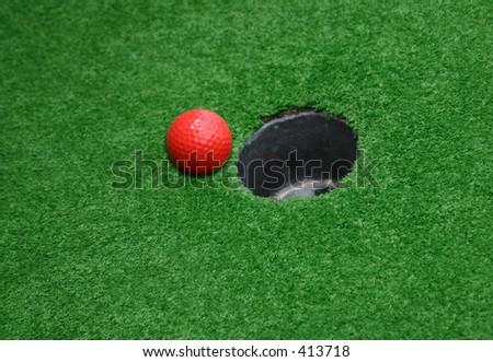 Miniature Golf 02 - stock photo