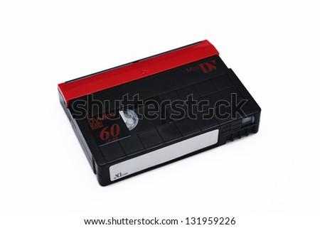 MiniDV Casette Tape - stock photo