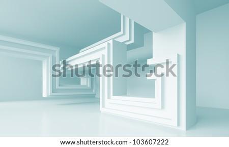 Minimalistic Architecture Design - stock photo