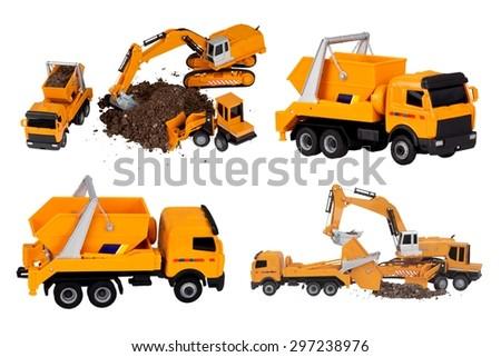 Mining, Truck, Dump Truck. - stock photo