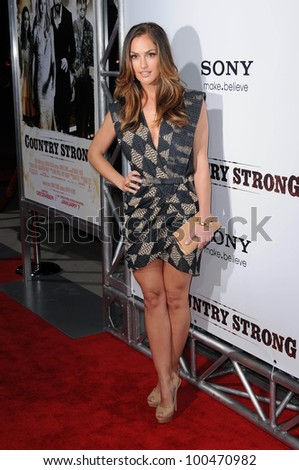"Minka Kelly at the ""Country Strong"" Los Angeles Special Screening, Academy of Motion Picture Arts and Sciences, Beverly Hills, CA. 12-14-10"