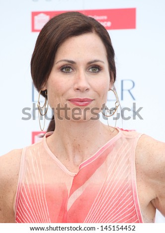 Minnie Driver arriving for the launch party for the Fashion Rules exhibition, Kensington Palace, London. 04/07/2013 - stock photo