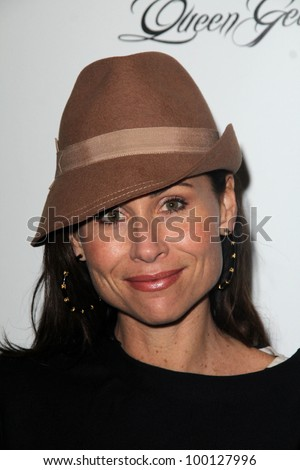 Minnie Driver at the Launch Party for Q by Jodi Lyn O'Keefe, Dari Boutique, Studio City, CA 01-23-12 - stock photo