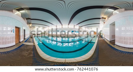 minsk belarus july 11 2013 panorama in interior of swimming pool in - Olympic Swimming Pool 2013