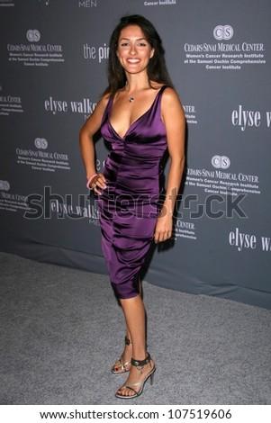 Mirelly Taylor  at the 4th Annual Pink Party. Santa Monica Airport, Santa Monica, CA. 09-13-08 - stock photo