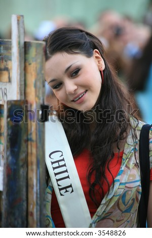 Miss Universe 2006 in Wroclaw (Poland)