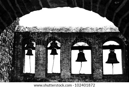 Mission Bells Silhouette