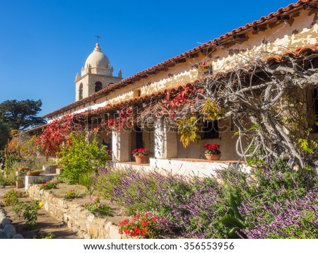 Mission Carmel is a Roman Catholic mission church in Carmel-by-the-Sea, California.