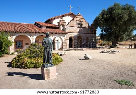 Mission San Antonio de Padua. - stock photo