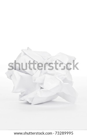 Mission white paper - stock photo